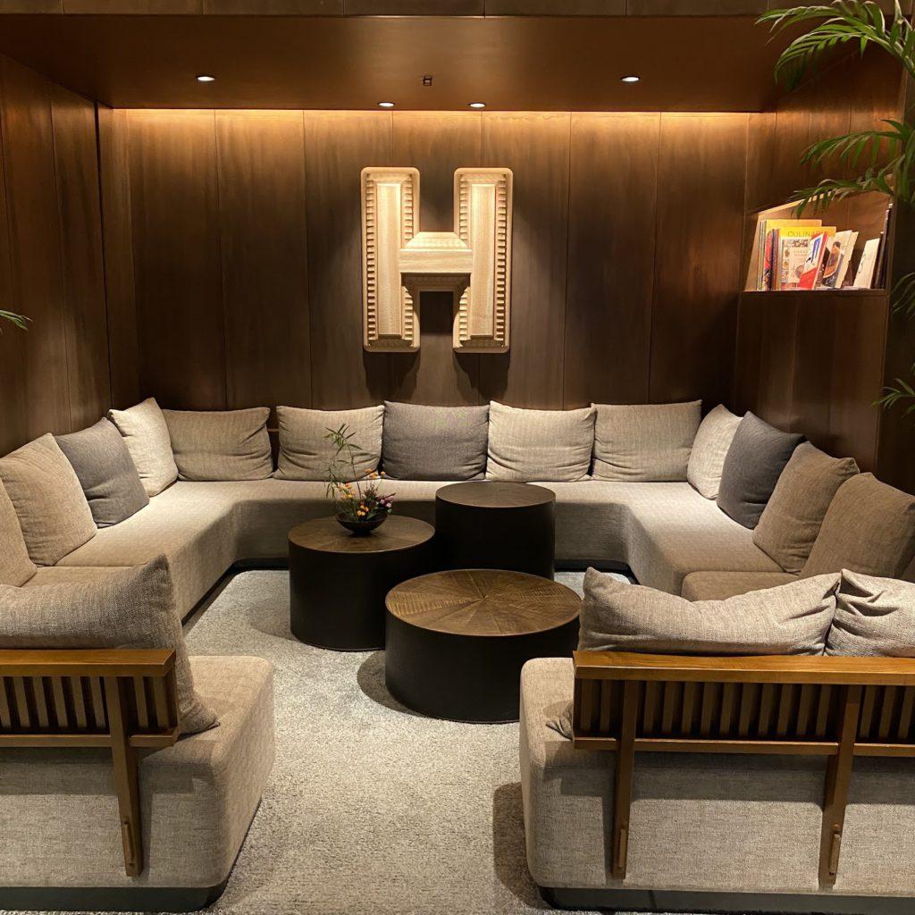 HAMACHO HOTEL TOKYO ロビーの様子